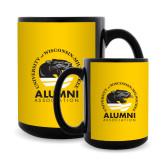Full Color Black Mug 15oz-Alumni Association