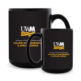 Full Color Black Mug 15oz-Engineering & Applied Science