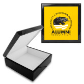 Ebony Black Accessory Box With 6 x 6 Tile-Alumni Association