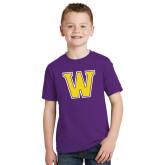Youth Purple T Shirt-W