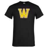 Black T Shirt-W