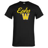 Black T Shirt-Ephs w/ W