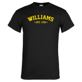 Black T Shirt-Arched Est. Year