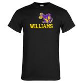 Black T Shirt-Williams w/ Cow