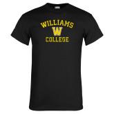 Black T Shirt-Williams College w/ W Distressed