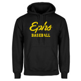 Black Fleece Hoodie-Ephs Baseball