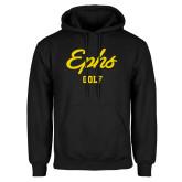 Black Fleece Hoodie-Ephs Golf