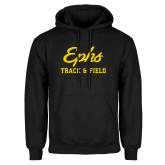 Black Fleece Hoodie-Ephs Track and Field