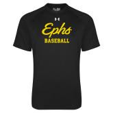 Under Armour Black Tech Tee-Ephs Baseball