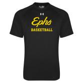Under Armour Black Tech Tee-Ephs Basketball