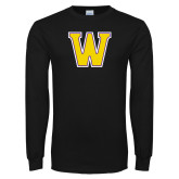 Black Long Sleeve T Shirt-W