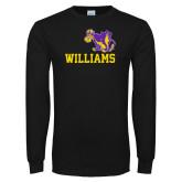Black Long Sleeve T Shirt-Williams w/ Cow
