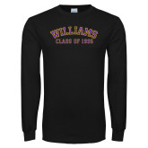 Black Long Sleeve T Shirt-Class of… Personalized