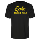 Performance Black Tee-Ephs Track and Field