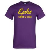 Purple T Shirt-Ephs Swim and Dive