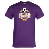 Purple T Shirt-NCAA DIII National Champions