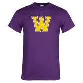 Purple T Shirt-W
