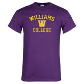 Purple T Shirt-Williams College w/ W
