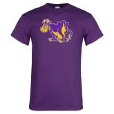 Purple T Shirt-Mascot