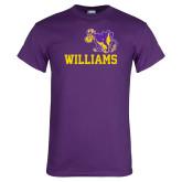 Purple T Shirt-Williams w/ Cow
