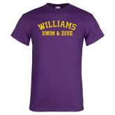 Purple T Shirt-Swim and Dive