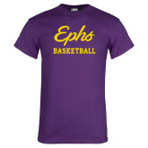Purple T Shirt-Ephs Basketball