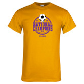 Gold T Shirt-NCAA DIII National Champions