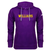 Adidas Climawarm Purple Team Issue Hoodie-Primary Mark - Athletics