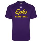 Under Armour Purple Tech Tee-Ephs Basketball