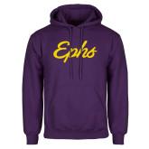 Purple Fleece Hoodie-Ephs