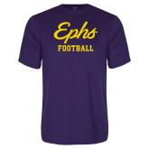 Performance Purple Tee-Ephs Football