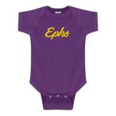 Purple Infant Onesie-Ephs