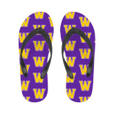 Ladies Full Color Flip Flops-W
