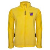 Fleece Full Zip Gold Jacket-W