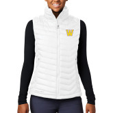 Columbia Lake 22 Ladies White Vest-W