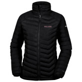 Columbia Lake 22 Ladies Black Jacket-Primary Mark - Athletics