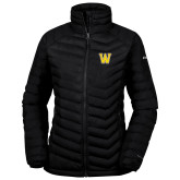 Columbia Lake 22 Ladies Black Jacket-W
