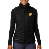 Columbia Lake 22 Ladies Black Vest-W