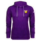 Adidas Climawarm Purple Team Issue Hoodie-W