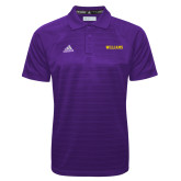 Adidas Climalite Purple Jacquard Select Polo-Primary Mark - Athletics