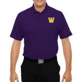 Under Armour Purple Performance Polo-W