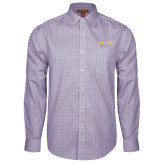 Red House Purple Plaid Long Sleeve Shirt-Primary Mark - Athletics