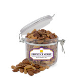 Deluxe Nut Medley Small Round Canister-W