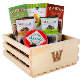 Wooden Gift Crate-W  Engraved