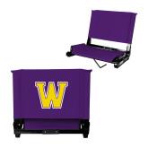 Stadium Chair Purple-W