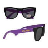 Purple Sunglasses-Primary Mark - Athletics