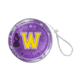 Light Up Purple YoYo-W