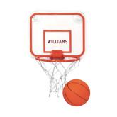 Mini Basketball & Hoop Set-Primary Mark - Athletics