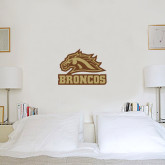 2 ft x 2 ft Fan WallSkinz-Broncos w/ Bronco Head