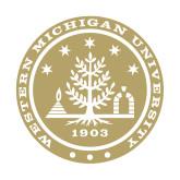 Medium Decal-WMU Seal Gold